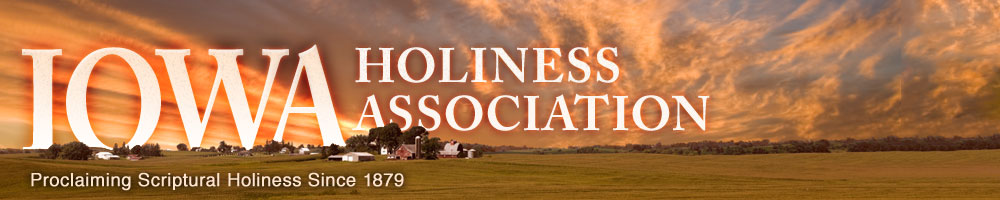 Iowa Holiness Association header image